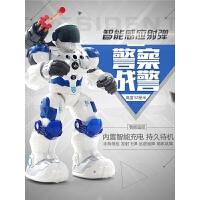 儿童玩具男孩 电动机器人玩具新威尔机械战警智能对话遥控机器人