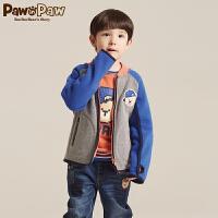 【1件4折 到手价:239】Pawinpaw宝英宝卡通小熊童装冬男女童摇粒绒外套