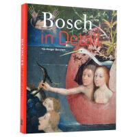 Bosch in Detail波希的细节 油画素描作品元素细节解析画册