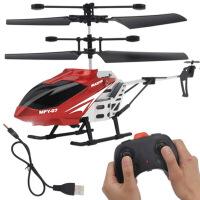 合金遥控飞机耐摔无人直升机小学生充飞行器模型男孩儿童玩具