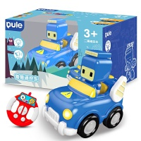 【领券立减】科技 百变布鲁可小队儿童遥控汽车玩具男孩女孩布鲁克玩具车 官方标配