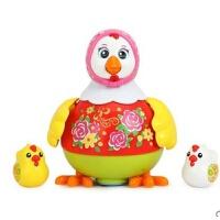 维莱 汇乐718跳舞鸡婴儿电动玩具万向音乐动物儿童宝宝1-3岁爬行玩具 红色718