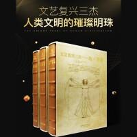 文艺复兴三杰 达・芬奇 拉斐尔 米开朗基罗 3本套装 建筑绘画 雕塑 手稿 素描 大师代表作品书籍