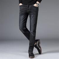 Lee Cooper新款男装直筒裤子简约商务弹力休闲男士牛仔裤小脚长裤