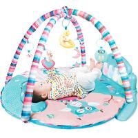 音乐游戏毯0-1周岁3-6-12个月 婴儿玩具脚踏钢琴健身架器宝宝