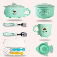 保温碗婴幼儿注水碗儿童保温饭碗宝宝餐具婴儿碗勺套装辅食碗