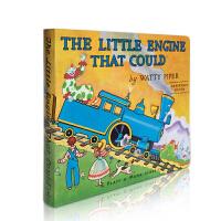 【全店300减100】预售 英文原版绘本 The Little Engine That Could 勇敢小火车头做到了纸