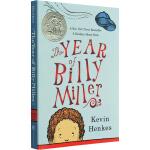 英文原版 The Year Of Billy Miller 神奇的一年 二号教室的一年 纽伯瑞银奖 凯文・汉克斯
