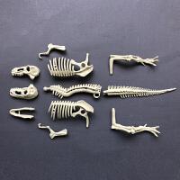 模型男孩3-6周岁7岁 考古挖掘玩具 手工DIY制作 儿童拼装
