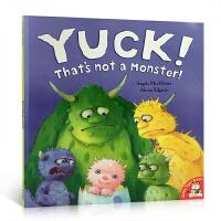 【全店300减100】英文原版 Yuck! That's Not a Monster! 哎呀 那不是怪兽 红房子大奖 用