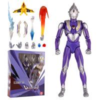 奥特曼玩具全身可动人偶 银河奥特曼玩具 赛罗act关节可动 欧布捷德泰罗迪迦超人模型人偶