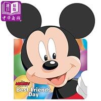 【中商原版】米奇老鼠和他的朋友 Mickey & Friends Best Friends Day 异形纸板书