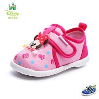 【清仓特惠】迪士尼童鞋2017年婴童休闲鞋男女童旅游鞋米奇米妮宝宝鞋 DH0086
