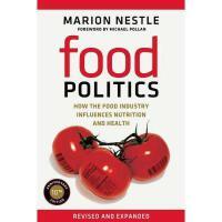 【预订】Food Politics: How the Food Industry Influences Y9780520