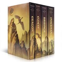 英文原版 龙骑士系列四部曲全套 Inheritance Cycle BoxSet 伊拉龙 遗产四部曲 盒装 套装 Er