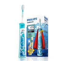 飞利浦儿童电动牙刷自动HX6311声波震动充电式 小孩宝宝牙刷