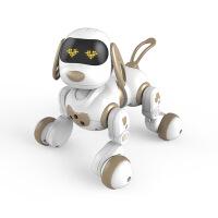 智能机器狗仿真遥控电子宠物儿童电动小狗玩具狗狗元旦礼物男孩子 USB充电版