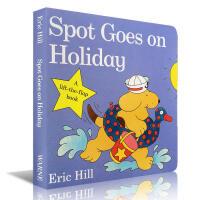 小玻系列翻翻纸板童书 Spot Goes on Holiday 少儿原版图书