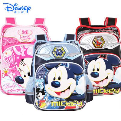 迪士尼小学生减负减压男生女生儿童小学生卡通书包背部加膜有买就有送 送笔盒