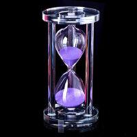 创意时间时光水晶沙漏摆件计时器圣诞礼品礼物女生日装饰品办公室