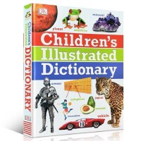 英文原版DK Children's Illustrated Dictionary儿童图解词典字典小学生英语学习工具书彩