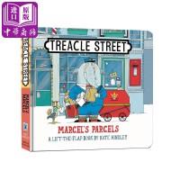 【中商原版】马塞尔的包裹 英文原版 Marcel's Parcels (Treacle Street)纸板翻翻书