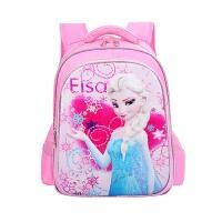 新冰雪奇缘小孩书包女艾莎公主小学生1-3年级4-6女孩减负校园双肩包