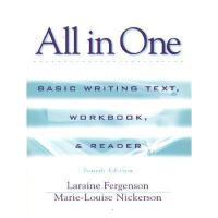 【预订】All in One: Basic Writing Text, Workbook, and