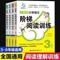 4册3-6年级新课标小学生语文阶梯阅读训练三年级四五六年级课外书必读语文理解能力培训小学生好词好句好段大全教辅教材同步