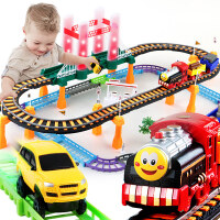 拖马斯小火车套装轨道车男童宝宝小汽车儿童玩具2-3-4岁5男孩电动