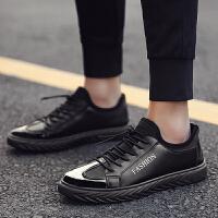 鞋子男韩版潮流男士运动学生 平板鞋男青少年潮鞋 休闲鞋板鞋