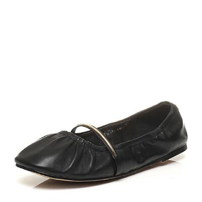 Teenmix/天美意2017春季专柜同款绵羊皮女单鞋6W402AQ7