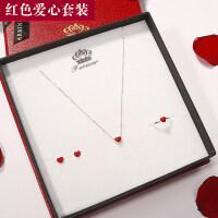 创意礼品一周耳环女气质韩国个性简约创意925银耳饰坠礼盒套装