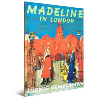 英文原版 Madeline in London 玛德琳在伦敦 美国凯迪克奖绘本 儿童课后英语阅读读物 勇敢乐观 天真烂