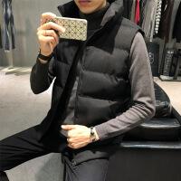 棉�R甲男�b秋冬季背心�R�A男士�n版休�e羽�q冬�b潮流坎肩外套