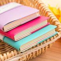 日韩创意皮套笔记本便签本日韩可爱日记本记事本学生文具本子