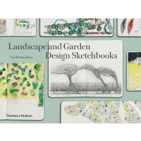 【预订】Landscape and Garden Design Sketchbooks景观和园林设计速写素描