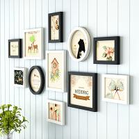 悬挂上客厅卧室相片框挂墙组合简约现代照片墙装饰创意个性相框墙