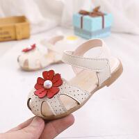 夏季宝宝鞋子女公主鞋婴儿女童包头凉鞋