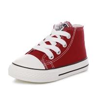 帆布鞋童鞋男童宝宝鞋子儿童单鞋春季学步女童布鞋