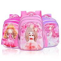 女童公主书包双肩包儿童书包小学生女孩1-3-5-6年级6-12周岁