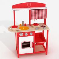儿童过家家玩具木制厨房套装早教幼教的做饭煮饭玩具3岁以上宝宝