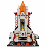 积木拼装飞机航天火箭军事模型儿童7-10岁玩具8男女孩子