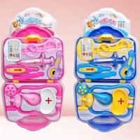 维莱 新款过家家医生玩具塑料玩具 仿真医疗听诊器儿童套装男女孩玩具