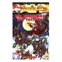 英文原版 老鼠记者27 Geronimo Stilton #27:The Christmas Toy Factory
