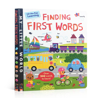 英文原版 Finding First Words: A lift-the-flap learning book 启蒙3