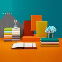 2020好好生活效率手册单日本商务会议记事本创意好看的本子大学生课堂笔记简约文艺糖果色日记规划本