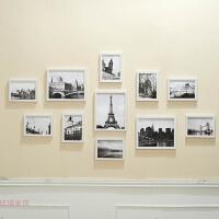 多框欧式相框创意挂墙组合10寸7寸像框摆台相片照片墙婚纱照画框 全套组合