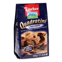 意大利Loacker莱家 巧克力味威化饼干 125g 婴幼儿宝宝零食