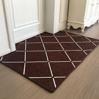 新款进门门垫定制入户门脚垫门厅客厅卧室地毯北欧简约地垫防滑